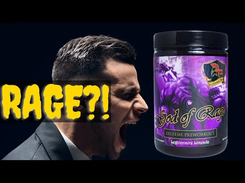 Dear Lord...😡 GOD of RAGE Pre Workout Review [Centurion Labz]