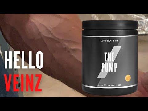 Hello Veinz   Myprotein THE PUMP Review