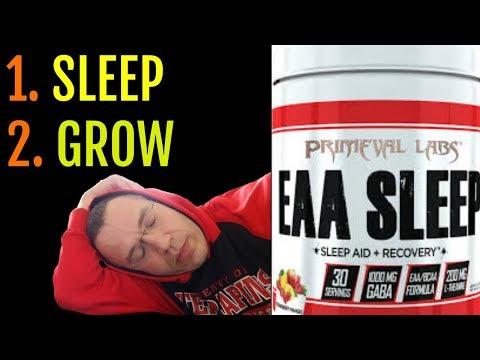 Sleep Better & Grow Bigger? | Primeval Labs EAA SLEEP Review