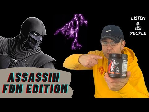 First Ever FDN Pre-Workout ⚔ Assassin FDN Limited Edition Review [V6.5]
