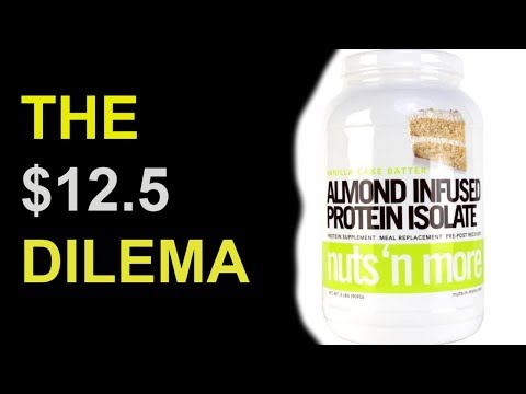 $12.5? This is NUTS!   Nuts N More Protein Isolate Review