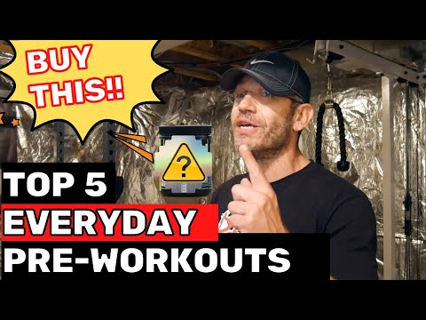 Best Everyday Pre-Workout 2021 | TOP 5 to get right now!