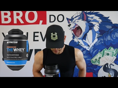 MYPROTEIN THE WHEY Review - Gold Standard Killer?