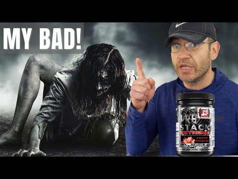 Huge MISTAKE! 😱 Pre Stack Extreme Pre Workout Review