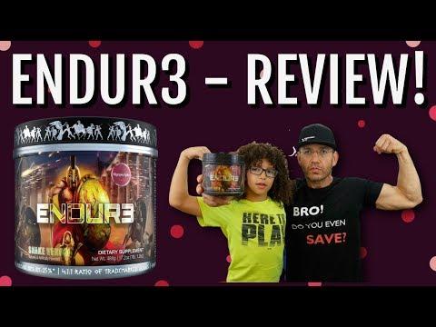 Olympus Labs ENDUR3 Review | Tasting SNAKE VENOM!