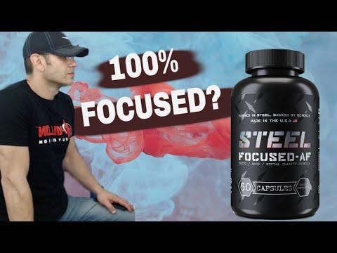 Steel Supplements FOCUSED-AF Review | Best Nootropic for Focus?