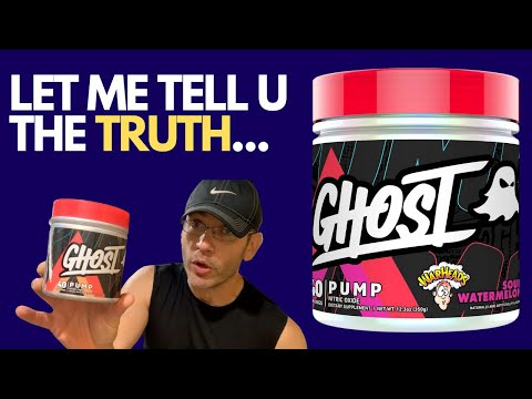 Someone HAD to Say It 🤦GHOST Pump Pre Workout Review [V2]