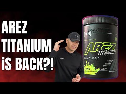 The LEGEND is Back! 🤯AREZ Titanium Pre Workout Review [MHN]