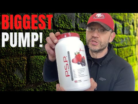Biggest PUMP Pre-Workout EVER | Metabolic Nutrition PSP Review