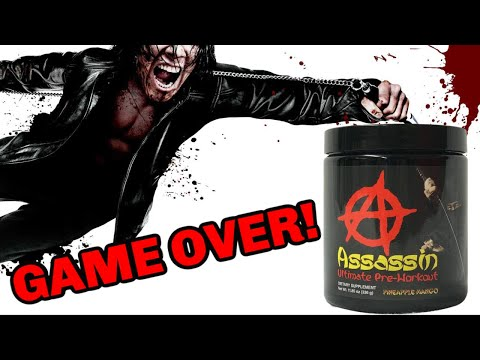 It's GAME OVER | Assassin Pre Workout Review | (V6 by Anarchy Labs)