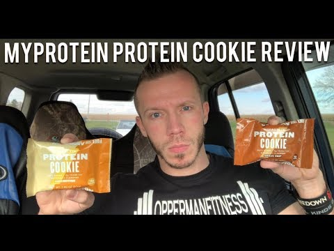 I Wasn't Expecting This | Honest Reviews: Myprotein Protein Cookie - Both Flavors