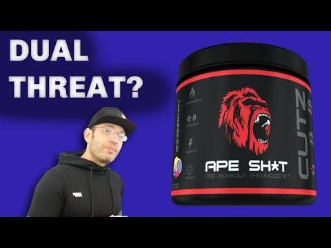 Sweating Ballz 😅 Primeval Labs Ape Shit Cutz Review