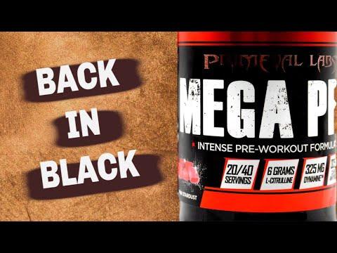 Back in Black! | Primeval Labs MEGA PRE BLACK Review [NEW]