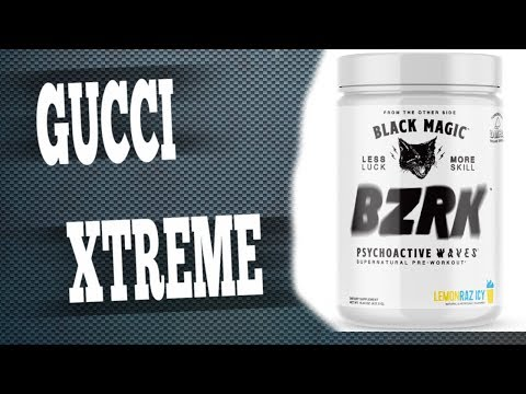 BZRK Pre Workout Review | Black Magic Extract?!