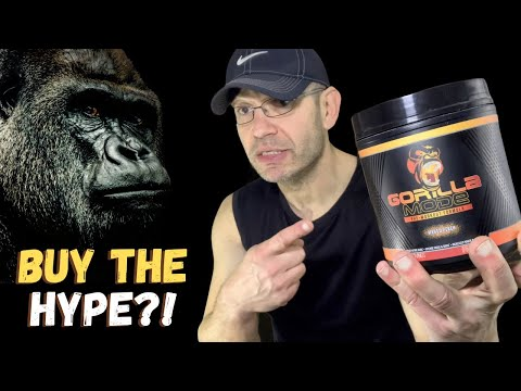GORILLA MODE Pre Workout Review ⛔The HYPE train STOPS Here