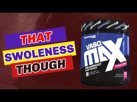 Swole AF 💪 Performax Labs VasoMax Review [pumps👇]