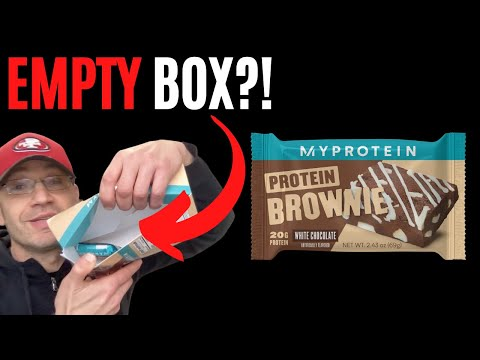 This Just Happened 😮 MYPROTEIN Brownie Review