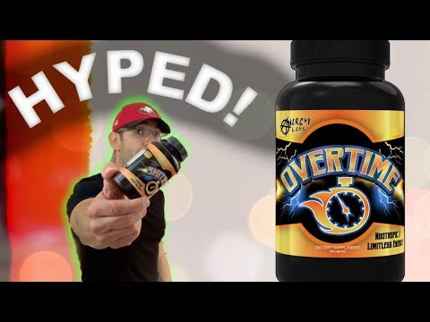 The ONLY Nootropic U need | OVERTIME Nootropic Review