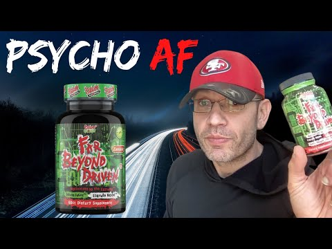Nootropic meets Fat Burner | Psycho Pharma FAR BEYOND DRIVEN Review