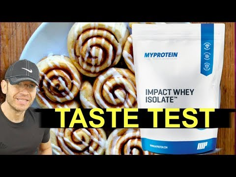 MYPROTEIN Cinnamon Roll Review   Best Isolate Flavor EP.2