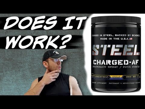 Steel Supplements CHARGED AF Review | Better than AMPED AF?