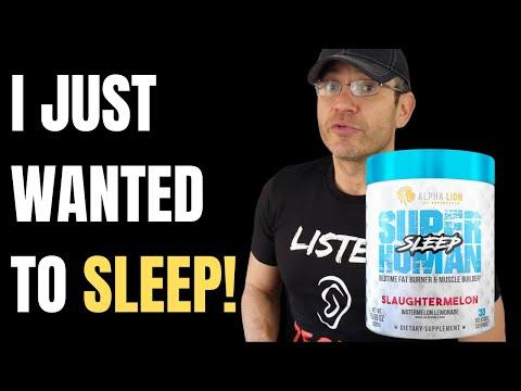 Man VS Insomnia 😱 Alpha Lion Superhuman Sleep Review