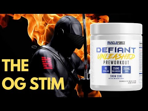 MuscleForce Defiant Unleashed Review | Best Pre Workout 2018 Contender?