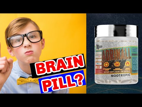 Inter Galactic Nootropic 🌎 Glaxon ADRINALL Review