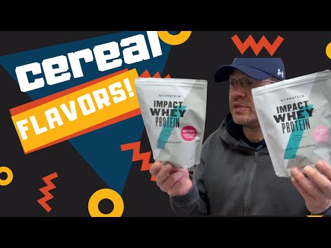 CEREAL KILLER 🕵 MYPROTEIN Fruity Cereal & Marshmallow Cereal Review