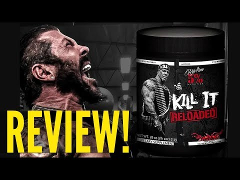 Rich Piana KILL IT RELOADED Pre Workout Review   NEW FORMULA!