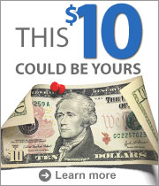 Refer a friend & get $10