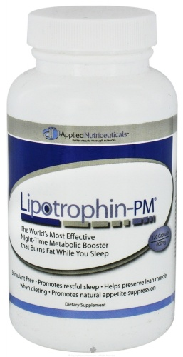Metabolism Booster Applied Nutriceuticals  Lipotrophin 120 caps for $18.17