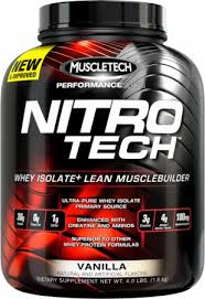 NitroTech- Whey Isolate  Protein Powder, For $29.95 Shipped