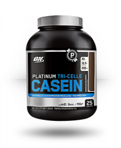 Optimum Nutrition: Platinum Tri-Celle Casein, 25 Servings For $37.99 Shipped