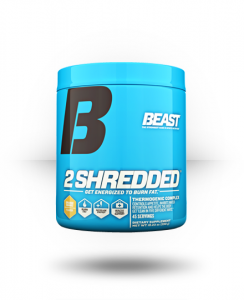 Beast Sports Nutrition: 2 Shredded, weight-loss For $27.99 Free Shipping