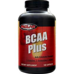 BCAA Plus by PROLAB NUTRITION, 180 caps For $16.79