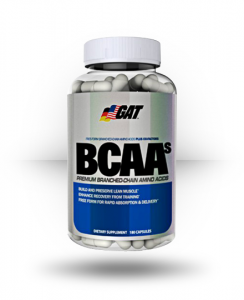 GAT BCAAs 180 Capsules For $15.99