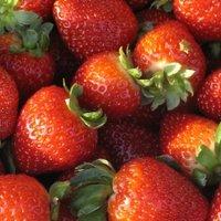 Strawberry snacks