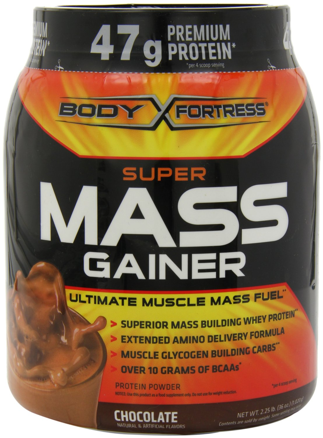 Body Fortress - Super Mass Gainer (2.25 lb) $12.94 Free Shipping
