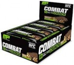 12/pk MusclePharm Combat Crunch Bars $18ea w/Bodybuilding Coupon