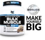 6LB BPI Bulk Muscle Mass Gainer $29 ($5 per lb) W/Coupon