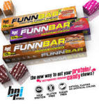 CRAZY LOW PRICE!! Box of BPI FUNNBAR $11 Shipped (12bars)