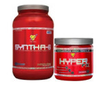 5LB Syntha6 Protein + FREE Hyper FX (30s) For $46 W/COUPON