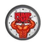 'Pump Time' Wall Clock - $16 W/COUPON
