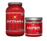5LB Syntha 6 Protein + FREE Hyper FX, Pre workout (30s) For $50