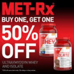 4LB Met-Rx Whey Isolate $42 W/Coupon