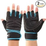 Coromose Weight Lifting Gloves $7 Shipped