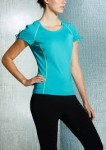 Fila Ruched Tie Sleeve Top $11 Shipped