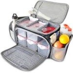 Fitmark - 'The Box' - Meal Management Bag (in Lavender) - $23!!