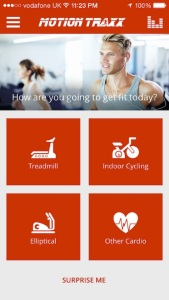 Motion Traxx app